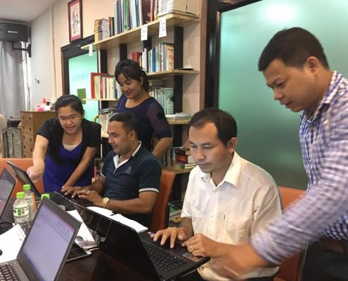 Capacity Building of Cambodia's Local Organizations